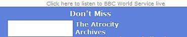 BBC, atrocity archives