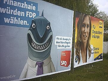 SPD European Parliament Election Campaign 2009