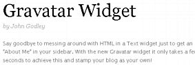 """""""Say goodbye to messing around with HTML in a Text widget"""""""