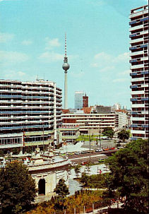 Radio Berlin International (RBI) QSL, 1980s