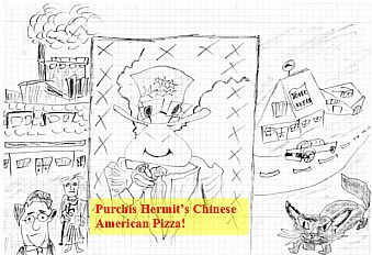 Unce Upon a Time in Bremen-Hemelingen: Hermit's Chinese American Pizza