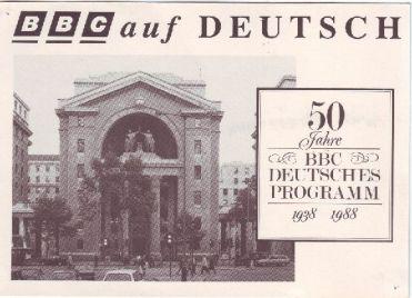 BBC German Service, 50th Anniversary, 1988