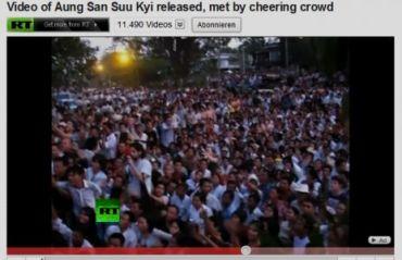 Still loving Su, Russia Today footage, November 13, 2010