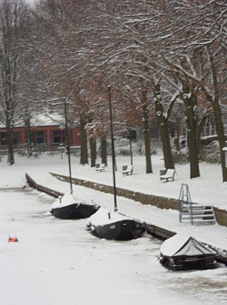 Peatwharf, Bremen-Findorff, December 23, 2010