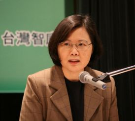 Unassuming, but with the power to lead: Tsai Ing-wen