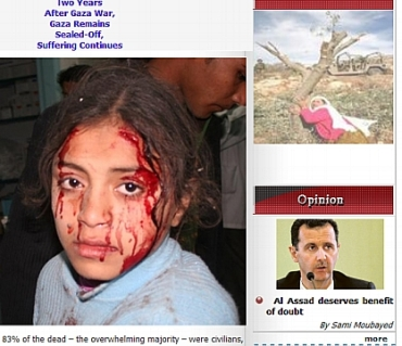 """""""Suffering Continues"""", """"Al Assad deserves Benefit of Doubt"""", syriaonline.sy"""