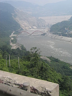 Zipingpu Dam (紫坪铺水利枢纽), Sichuan Province