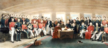 "John Platt: ""The signing and sealing of the Treaty of Nanking"", Wikimedia Commons"