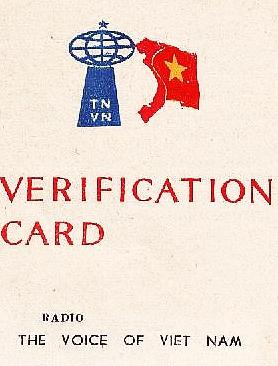 Voice of Vietnam QSL, 1980s