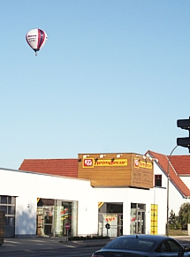 Hot-Air balloon, October 2011