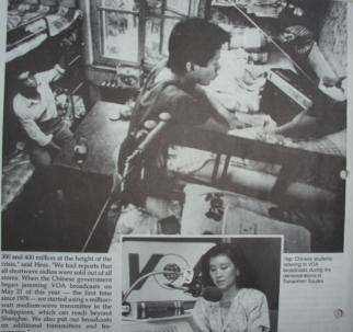 Voice, October/November 1989 (Voice of America magazine)