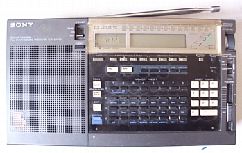 Sony ICF 2001 D - enemy broadcasters at your fingertips