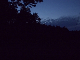 Less than an hour before midnight (daylight saving time), June 23, 2012