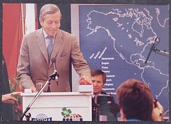 Radio Netherlands 1987 QSL