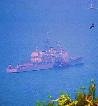 US Navy visit Hong Kong (archive)
