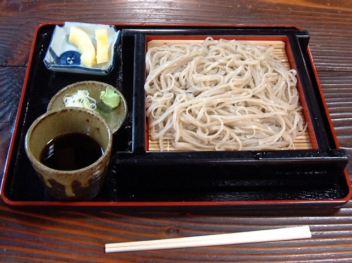 Japanese Soba (thin noodles)