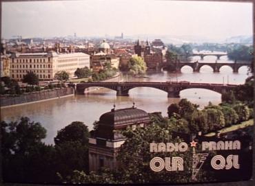 Radio Prague QSL, December 1985
