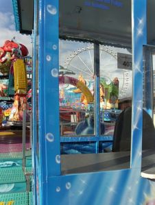 Amusement park under construction, October 2013