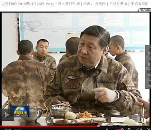 Xi Jinping: lunch with the warriors