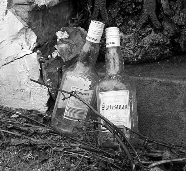 Two bottles of Statesman