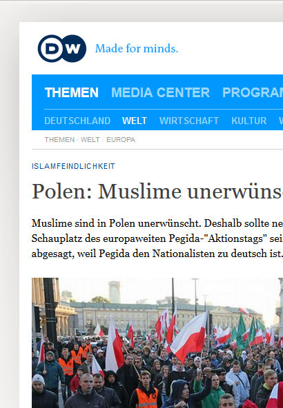 Coverage on Poland