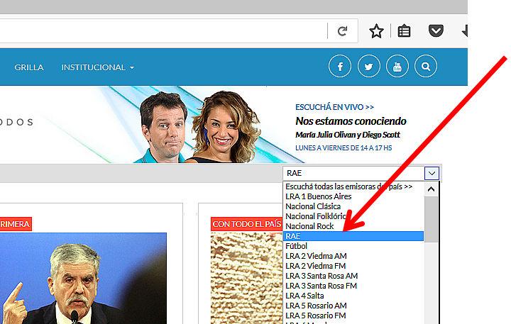 Radio Nacional / Radiodifusión Argentina al Exterior livestream