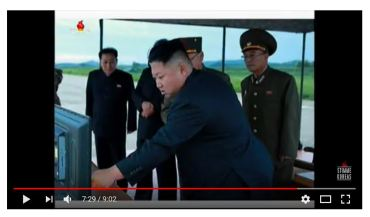 The Genius instructing the Military: this is how to launch a missile - click photo for video