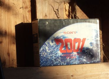 Sony ICF 2001 packing