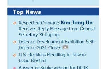 Saturday's KCNA headlines